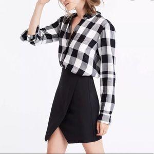 Madewell parkway mini split skirt